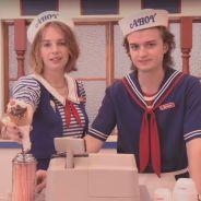 """Algo diz que Steve e Robin, a personagem nova, não vão se dar tão bem em """"Stranger Things"""""""
