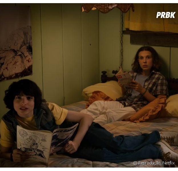 """Stranger Things"": Finn Wolfhard fala sobre o futuro de Mike e Eleven (Millie Bobby Brown)"