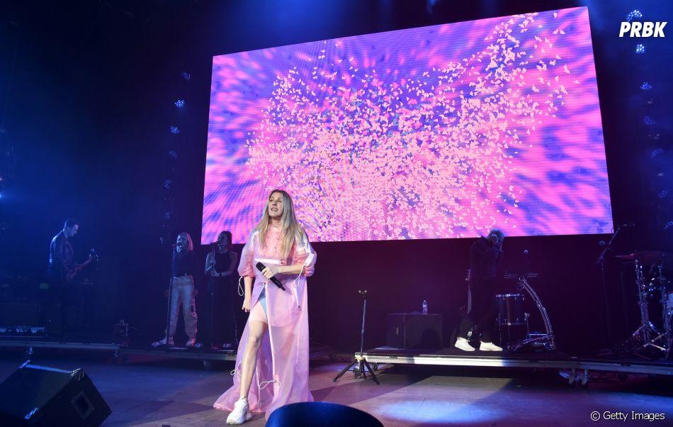 """Atualmente, Ellie Goulding lançou algumas faixas de sucesso, como """"Hate Me"""", em parceria com o rapper Juice WRLD"""