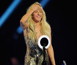 Ellie Goulding também já venceu o prêmio de Artista Britânica Feminina em 2014, no Brit Award