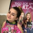 """Sobre as redes sociais, Klara Castanho disse que tem """"muito medo"""" do que elas podem causar"""