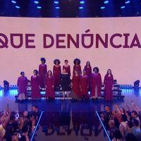 """Icônica: Marília Mendonça protesta contra a cultura do estupro em performance no """"Criança Esperança"""""""