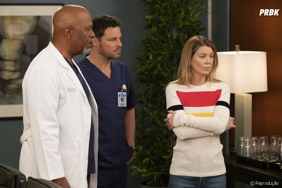 """Grey's Anatomy"": 16ª temporada testará os limites de Meredith (Ellen Pompeo), Richard (James Pickens Jr.) e Alex (Justin Chambers)"