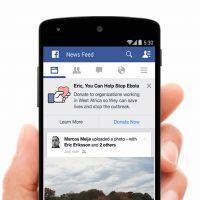 Facebook cria campanha e pede doações para combater o Ebola