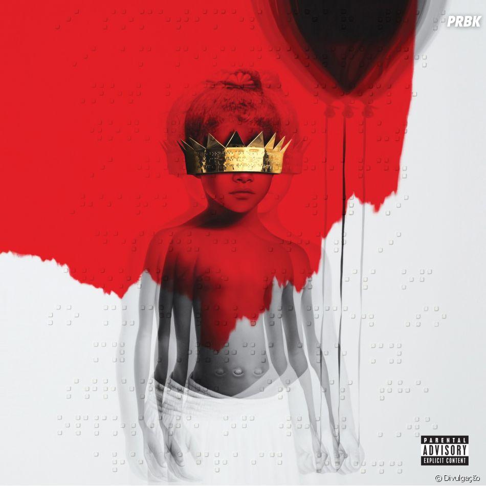 """Rihanna lançou seu último álbum, """"ANTI"""", em janeiro de 2016"""