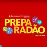 Santander e Universia se unem para mais uma edição do Preparadão Universia. Saiba tudo que vai rolar