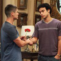 """Novela """"Alto Astral"""": Gaby obriga Gustavo a se desculpar com Emerson!"""