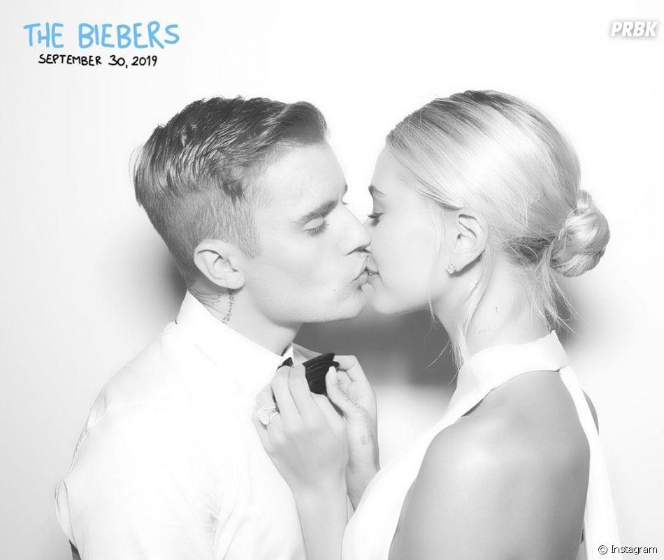 Justin e Hailey Bieber casaram no religioso na segunda (30)