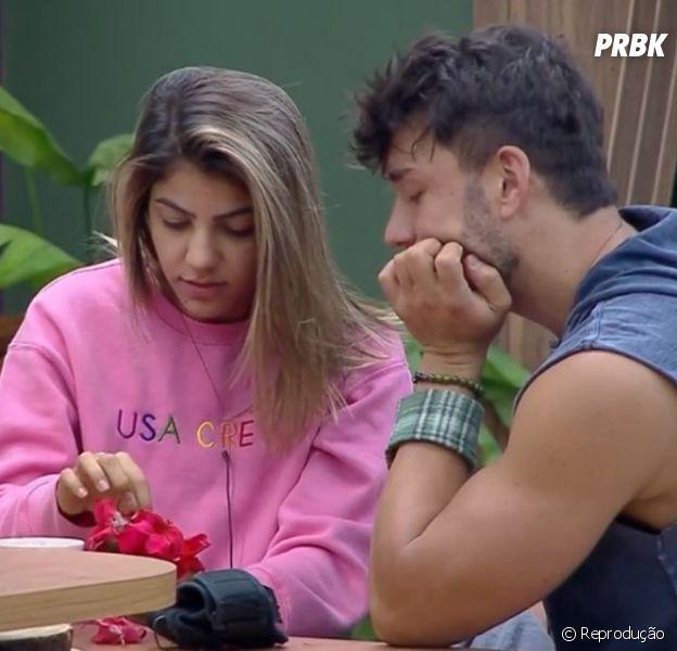"""""""A Fazenda 11"""": Hariany foi pedida em namoro por Lucas Viana"""