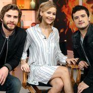 """No filme """"Jogos Vorazes"""", Katniss e Gale brigam por causa de Peeta em novo vídeo"""