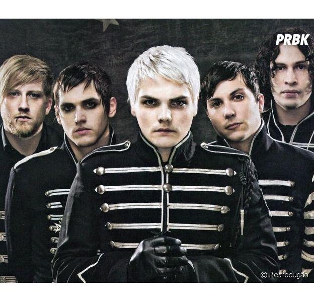 É a volta do emo! My Chemical Romance anunciou retorno e nós já separamos o lápis preto