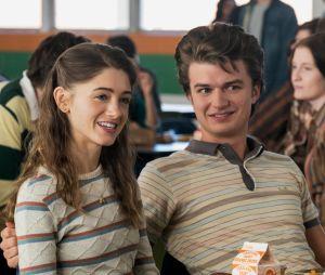 """""""Stranger Things"""":Nancy (Natalia Dyer) e Steve (Joe Keery) juntos outra vez? Atriz diz que gostaria de ver isso acontecendo"""