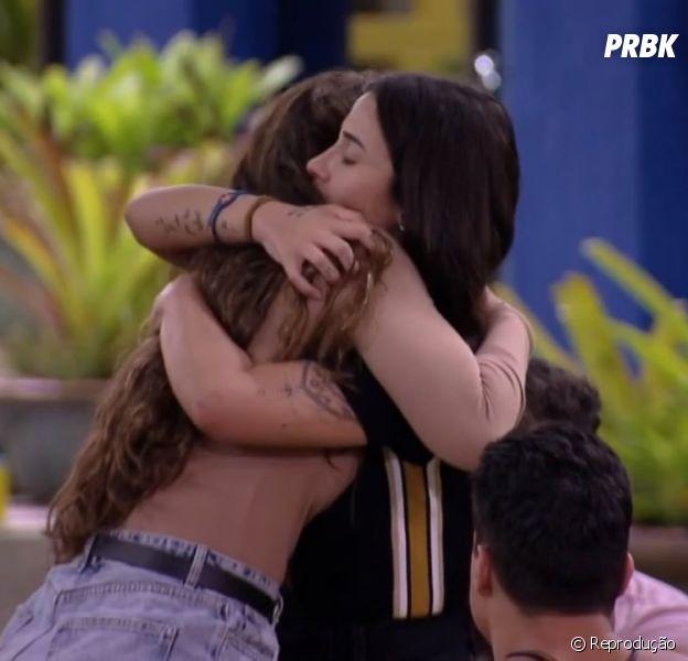 """BBB20"": Bianca Andrade e Rafa Kalimann fazem as pazes"