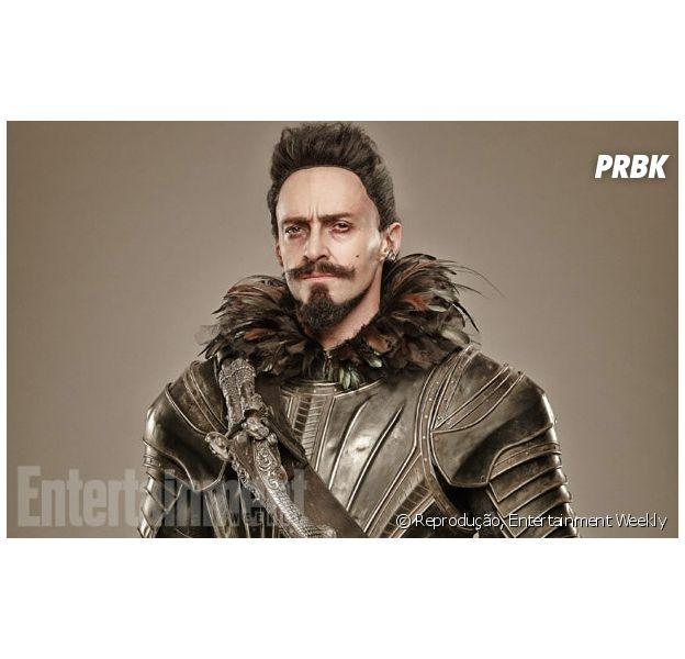 """Hugh Jackman aparece caracterizado como o Barba Negra para o filme """"Pan"""""""