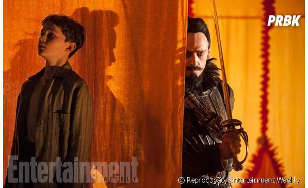 Além de Hugh Jackman, o filme também conta com Levi Miller no elenco, no papel do Peter Pan