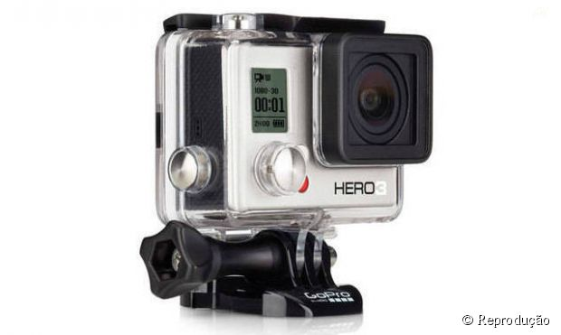 "Cãmera ""GoPro Hero 3+"" vai ser fabricada no Brasil e custará 30% menos"