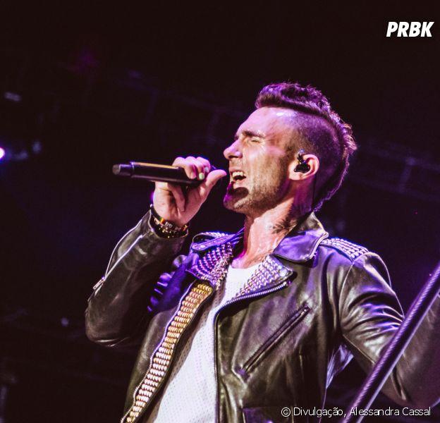 """Maroon 5 trouxe a """"2020 Tour"""" para o Brasil em quatro cidades"""