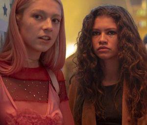 """Em """"Euphoria"""", Rue (Zendaya) e Jules (Hunter Schafer) ganharam muitos shippers na 1ª temporada"""