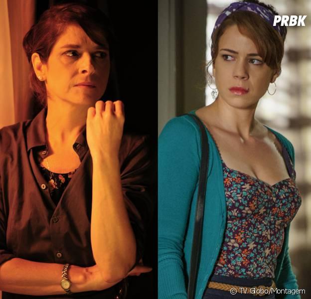 """Cristina (Leandra Leal) finalmente começa a enxergar a verdadeira Cora (Drica Moraes) em """"Império"""""""