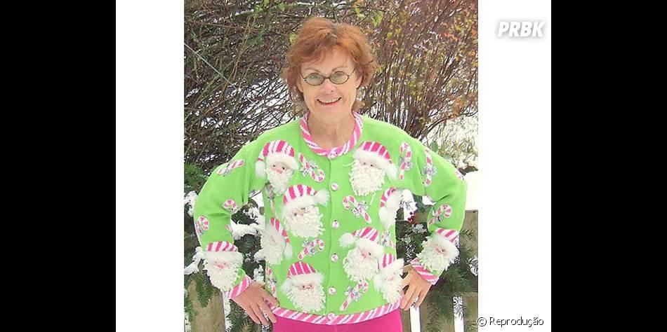 Será que ela teria coragem de usar essa roupa em outra época do ano ou só no Natal?