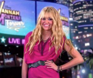 Miley Cyrus interpretou Hannah Montana até 2011