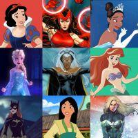 Qual mistura de Princesa da Disney com super-heroína das HQs você é?