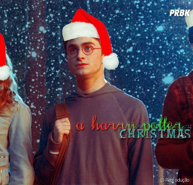 """Natal dos fãs de """"Harry Potter"""" vai ficar mais feliz com presente de J.K. Rowling"""