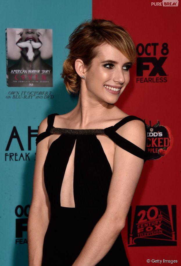 """Emma Roberts é a protagonista de """"Scream Queens"""""""