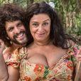 """""""Haja Coração"""": quem lembra da história da Teodora (Grace Gianoukas), que foi parar numa ilha e ficou com um cosplay de Tarzan?"""