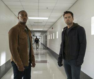 """""""Falcão e o Soldado Invernal"""":Sam (Anthony Mackie) e Bucky (Sebastian Stan) enfrentarão novas missões e inimigos juntos"""