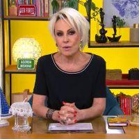 """Ana Maria Braga se desculpa após falar sobre """"racismo reverso"""" no """"Mais Você"""""""