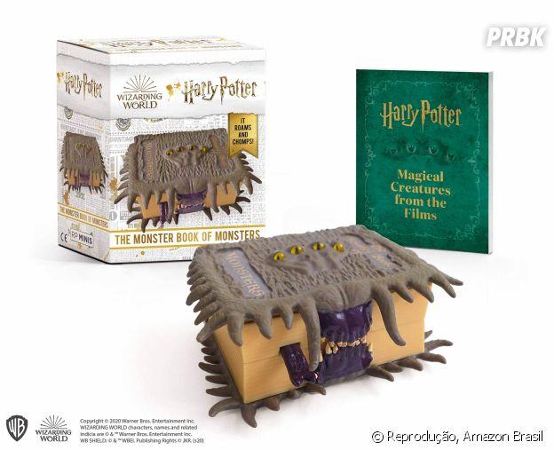 """""""Harry Potter"""":Miniatura O Livro Monstruoso dos Monstros"""