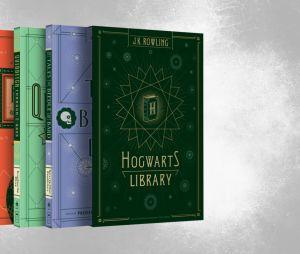 """""""Harry Potter"""":Box Biblioteca Hogwarts - 3 livros"""