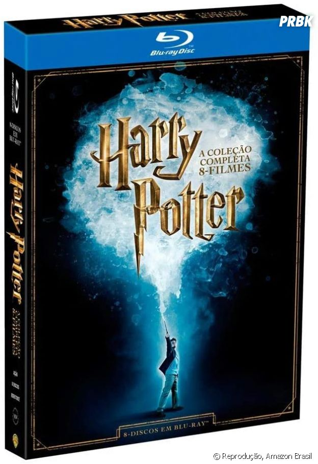 """Harry Potter"":Box Filmes Harry Potter"