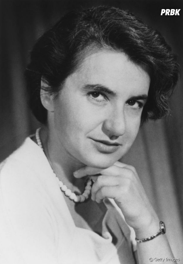 Rosalind Franklin, mulher responsável pela constatação da dupla hélice do DNA