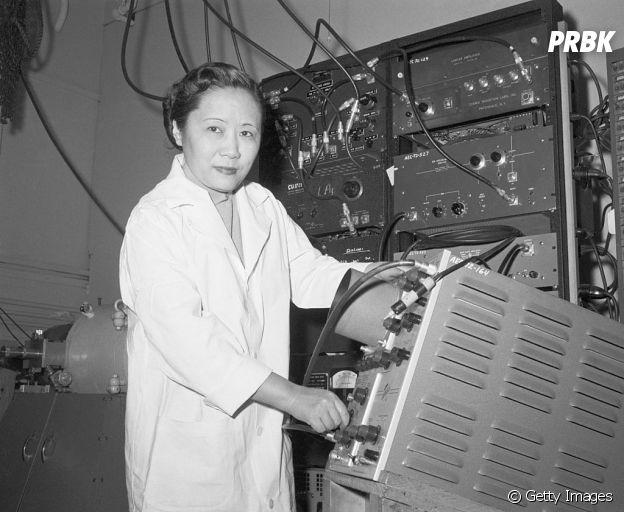 Chien-Shiung Wu foi responsável por desmentir a Lei da Paridade