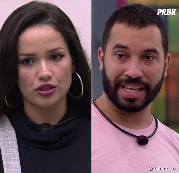 """Juliette e Gilberto brigam no """"BBB21"""" e internet se divide"""