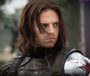 """Em """"Falcão e o Soldado Invernal"""", Bucky Barnes (Sebastian Stan) precisa trabalhar a culpa pelos crimes do Soldado Invernal"""