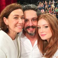 "Novela ""Império"": Maria Isis (Marina Ruy Barbosa) e Marta descobrem que José Alfredo está vivo!"