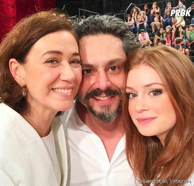 """Maria Isis (Marina Ruy Barbosa) e Maria Marta (Lilia Cabral) vão se unir para descobrir se José Alfredo (Alexandre Nero) morreu mesmo em """"Império"""""""