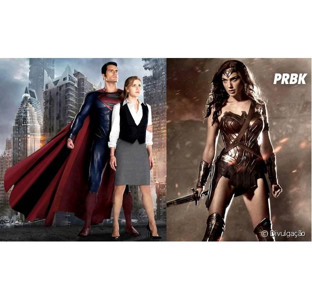 """Amy Adams e Gal Gadot não vão disputar Henry Cavill em """"Batman V Supermna: Alvorecer da Justiça"""""""