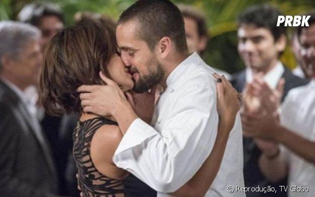 """""""Império"""": Maria Clara (Andreia Horta) começa a namorar ex da irmã"""