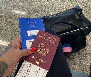 """""""No Limite"""": Ariadna saiu da Itália para passar a pandemia no Brasil com a família e retornou ao país em janeiro de 2020"""