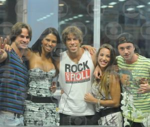 """Ariadna participou da Casa de Vidro no """"BBB11"""" ao lado de outros quatro eliminados, mas não conseguiu voltar para o programa"""