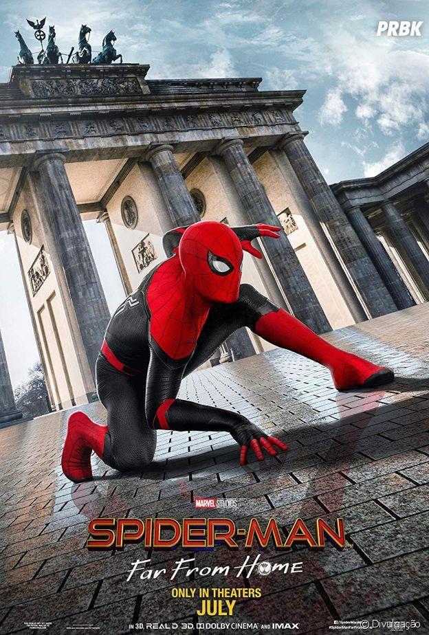 """Homem Aranha - Longe de Casa"""