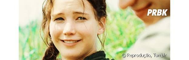 """Katniss Everdeen, de """"Jogos Vorazes"""", é interpretada por Jennifer Lawrence"""