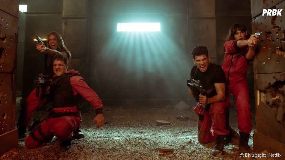 "Os assaltantes enfrentam grandes desafios no trailer de ""La Casa de Papel"""