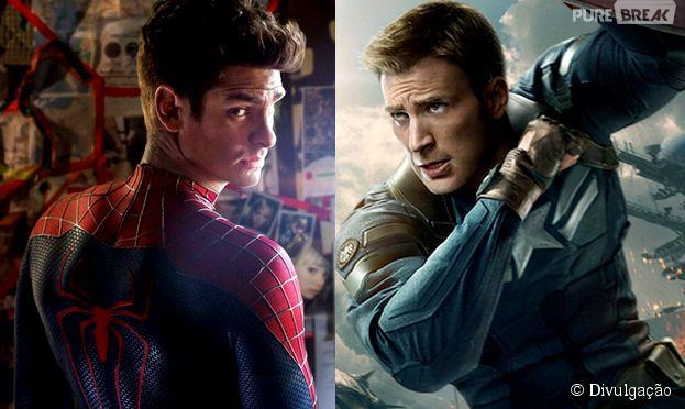 """""""Homem-Aranha"""" e """"Capitão América 3"""" vão ter um crossover"""