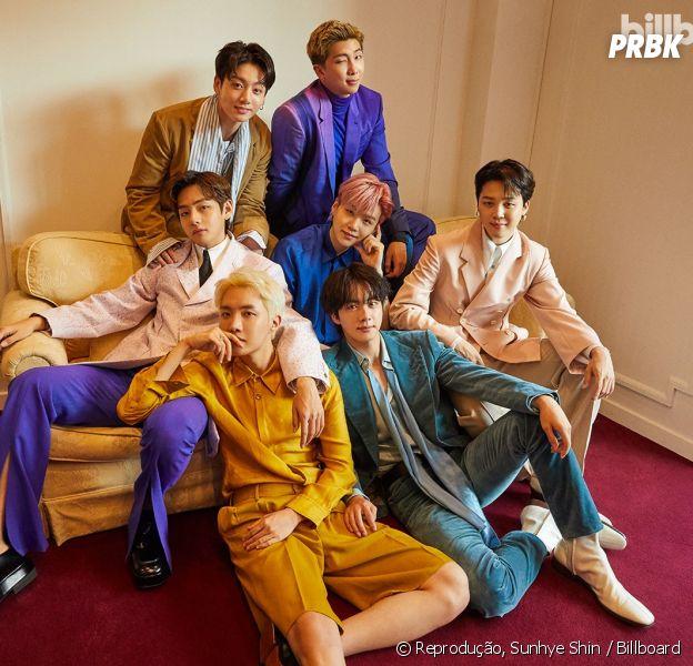 BTS fotos: 10 imagens do grupo de K-pop para a Billboard e mais