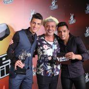 """Bastidores da final """"The Voice Brasil 3"""": veja como foi a vitória de Danilo e Rafael no reality"""